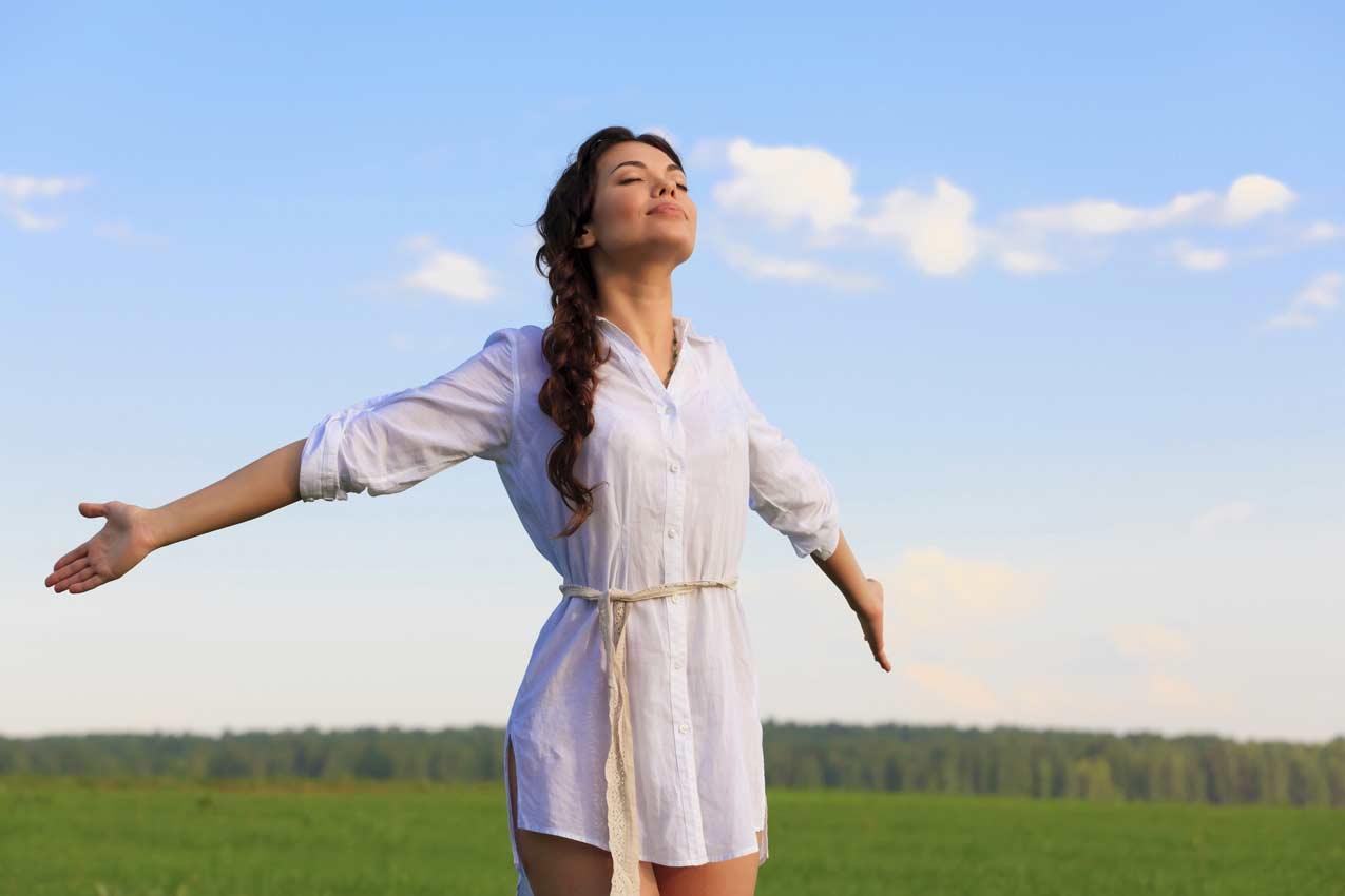 Fresh air poses health benefits