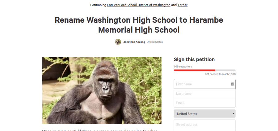 Students petition to rename WHS