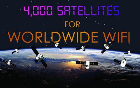 4,000 satellites for worldwide wifi