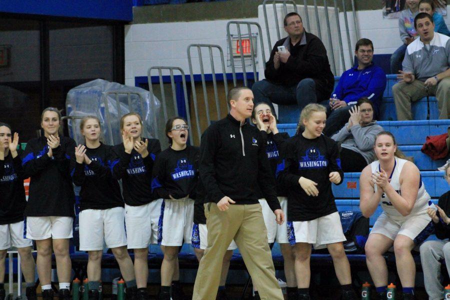 WHS Girls Basketball coach hits milestone