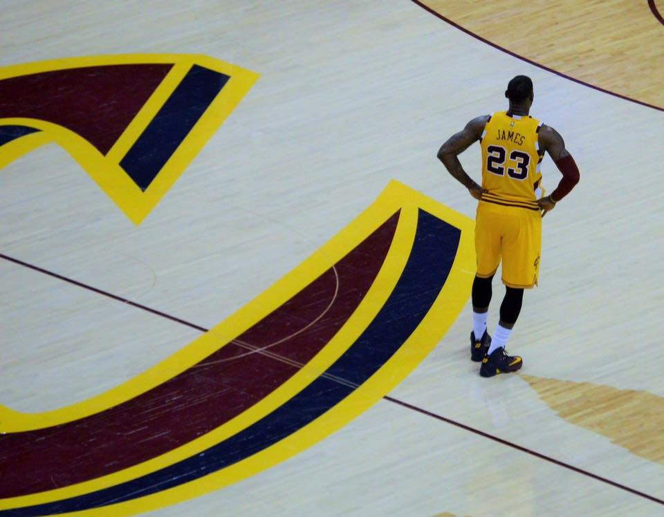Lebron James is currently playing in his 15th season in the NBA.