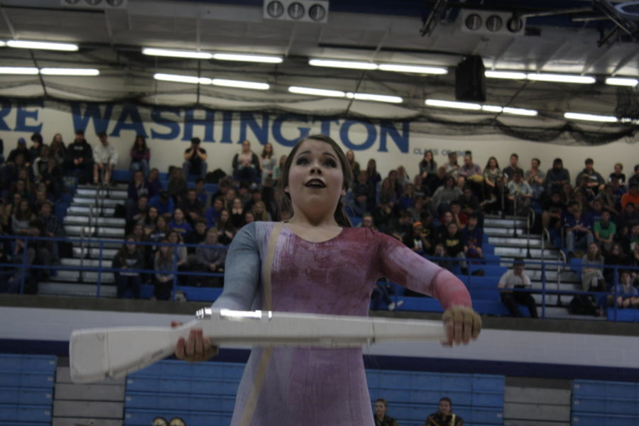 Students get recognized, perform at spring sports assembly