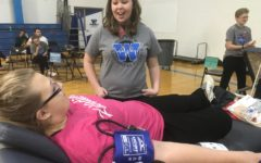 Biomedical science students host blood drive