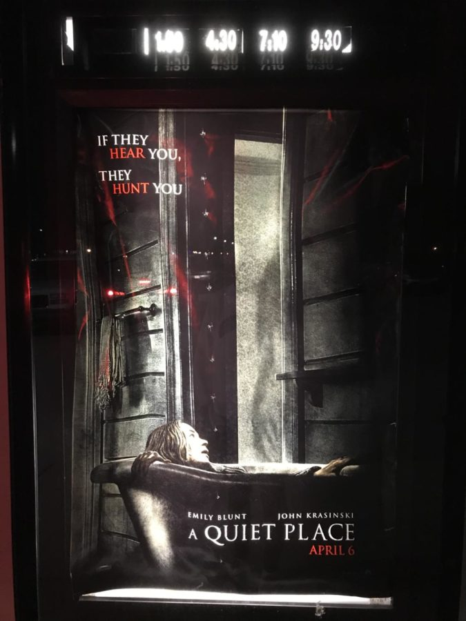 'A Quiet Place' keeps viewers on edge of their seats