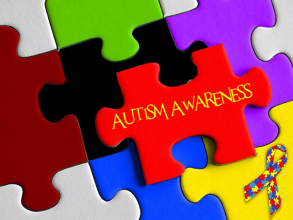 April is National Autism Awareness Month. Wear blue in support of those who live with Autism.