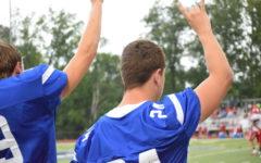 Football seniors say goodbye