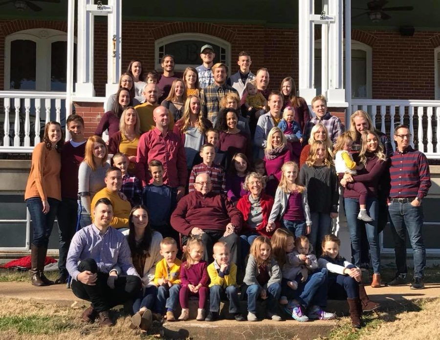 Some+of+the+Nelson+grandchildren+and+great-grandchildren+pose+for+a+family+picture+last+November.