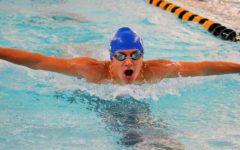 Kauffeld swims into school history