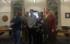 Student becomes new student board representative
