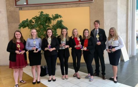 DECA students advance to the state level