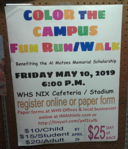 WHS hosts Color Run/Walk