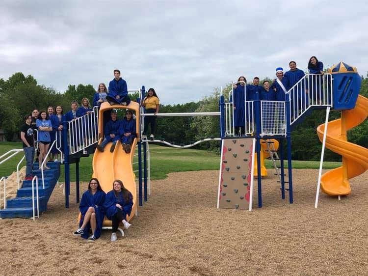 WHS seniors visit elementary schools