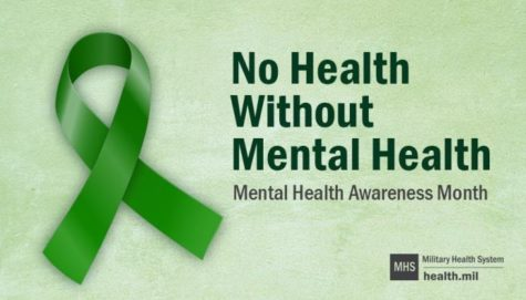 The month of May raises mental health awareness