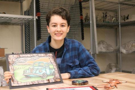 Brinker embraces artistic talent