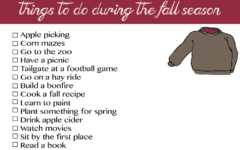Things to do during the fall season