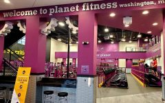 The Planet Fitness Washington location opened around the start of the new year.