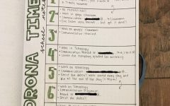 Senior Jaden Eckelkamp uses Instagram to keep track of her progress with her bullet journal.