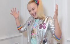 JoJo Siwa is shown in a screenshot from one of her videos from 2018.