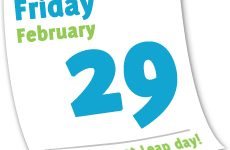 The tradition of leap year
