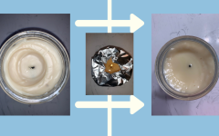 How to fix a tunneling candle