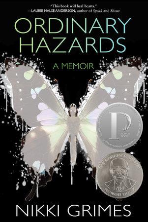 The cover of Nikki Grimes book, Ordinary Hazards