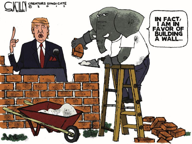 Debate On America Building The Wall
